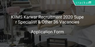 KIIMS Karwar Recruitment 2020 Super Specialist & Other 36 Vacancies