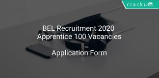 BEL Recruitment 2020 Apprentice 100 Vacancies