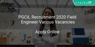 PGCIL Recruitment 2020 Field Engineer Various Vacancies