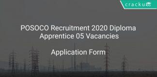 POSOCO Recruitment 2020 Diploma Apprentice 05 Vacancies