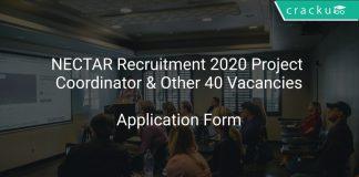 NECTAR Recruitment 2020 Project Coordinator & Other 40 Vacancies