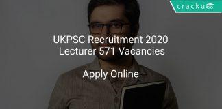 UKPSC Recruitment 2020 Lecturer 571 Vacancies