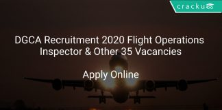 DGCA Recruitment 2020 Flight Operations Inspector & Other 35 Vacancies
