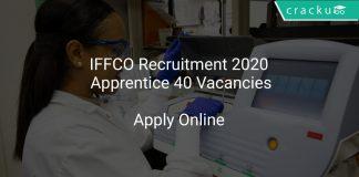 IFFCO Recruitment 2020 Apprentice 40 Vacancies