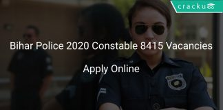 Bihar Police 2020 Constable 8415 Vacancies