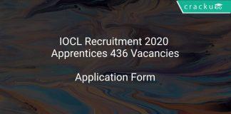 IOCL Recruitment 2020 Apprentices 436 Vacancies