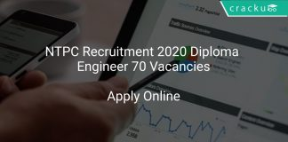 NTPC Recruitment 2020 Diploma Engineer 70 Vacancies