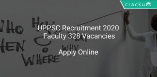 UPPSC Recruitment 2020 Faculty 328 Vacancies
