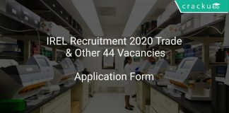 IREL Recruitment 2020 Trade & Other 44 Vacancies