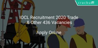 IOCL Recruitment 2020 Trade & Other 436 Vacancies