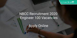 NBCC Recruitment 2020 Engineer 100 Vacancies