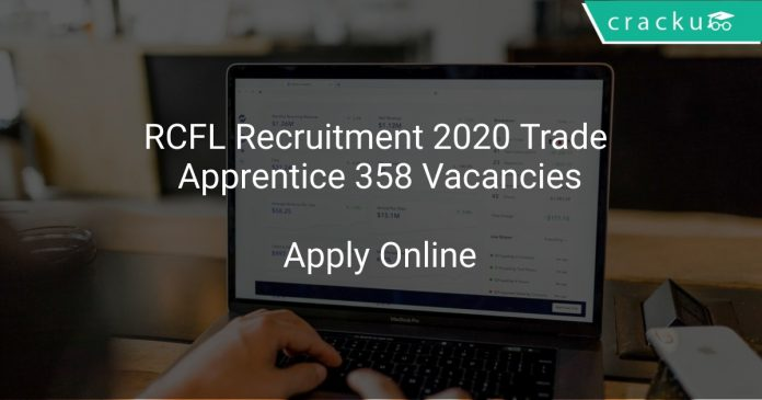 RCFL Recruitment 2020 Trade Apprentice 358 Vacancies