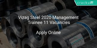Vizag Steel Recruitment 2020 Management Trainee 11 Vacancies
