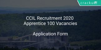 CCIL Recruitment 2020 Apprentice 100 Vacancies