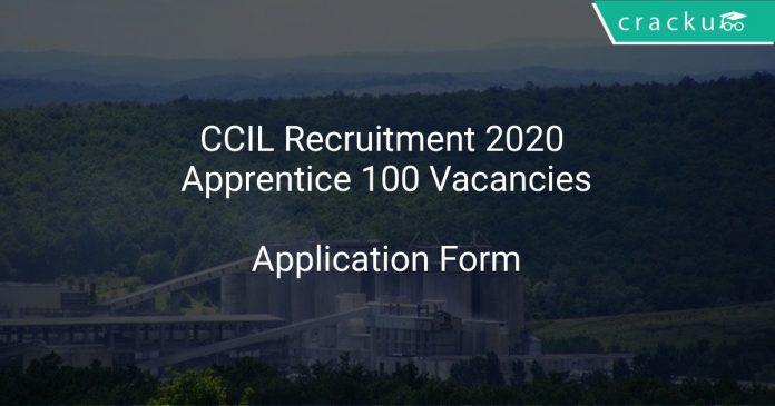 CCIL Recruitment 2020 Apprentice 100 Vacancies