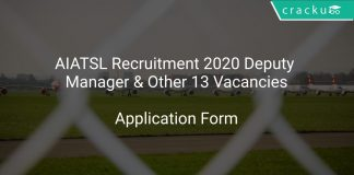 AIATSL Recruitment 2020 Deputy Manager & Other 13 Vacancies