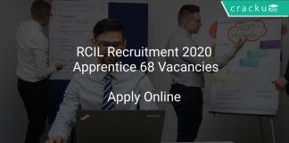 RCIL Recruitment 2020 Apprentice 68 Vacancies