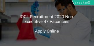 IOCL Recruitment 2020 Non Executive 47 Vacancies