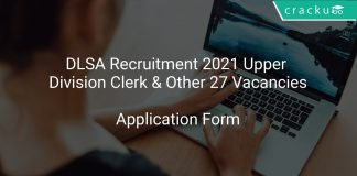 DLSA Recruitment 2021 Upper Division Clerk & Other 27 Vacancies