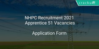 NHPC Recruitment 2021 Apprentice 51 Vacancies