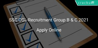 SSC CGL Recruitment Group B & C 2021