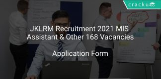 JKLRM Recruitment 2021 MIS Assistant & Other 168 Vacancies