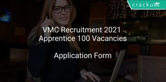 VMC Recruitment 2021 Apprentice 100 Vacancies
