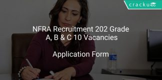 NFRA Recruitment 2021 Grade A, B & C 10 Vacancies