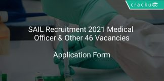 SAIL Recruitment 2021 Medical Officer & Other 46 Vacancies