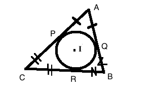 Triangle with Incircle
