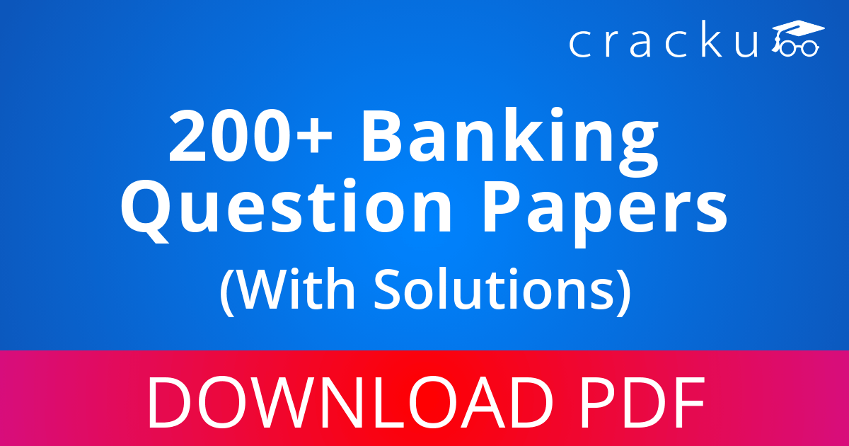 bank exam question paper with answer free download