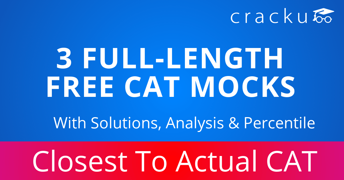CAT Mock Test 2019 | FREE CAT Test Series