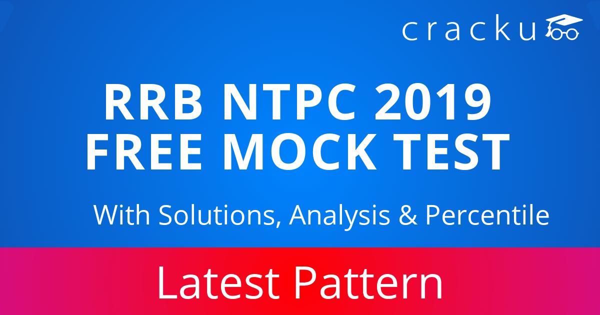 RRB NTPC Mock Test 2019 | FREE Online Test Series