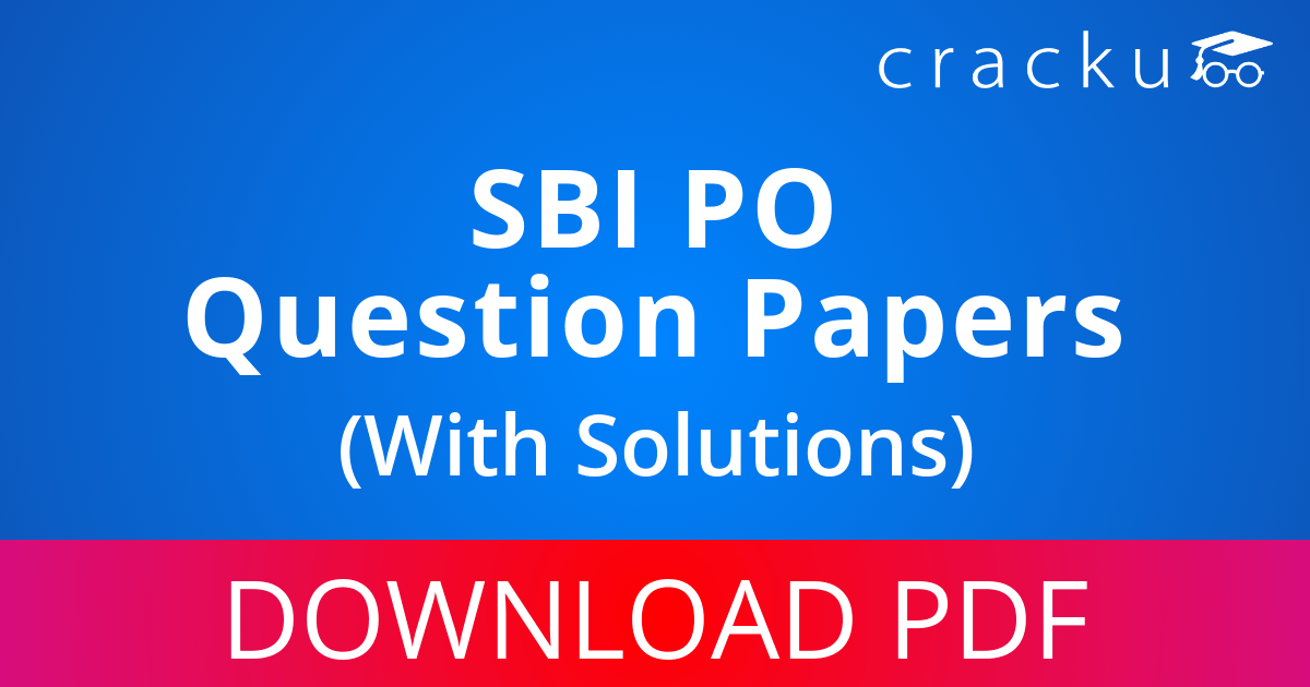 PDF] SBI PO Previous Year Question Papers with Solutions