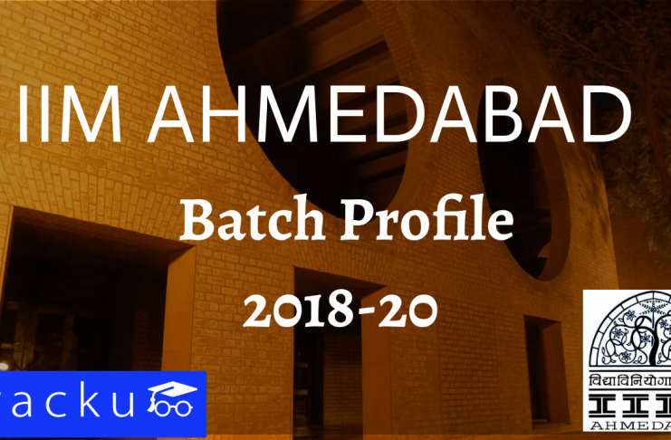 IIM Ahmedabad Batch Profile 2018-2020