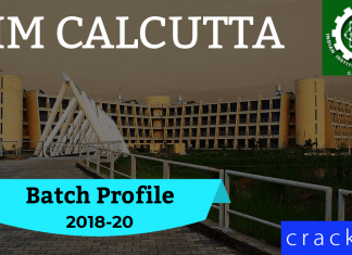IIMC Batch Profile 2018-20