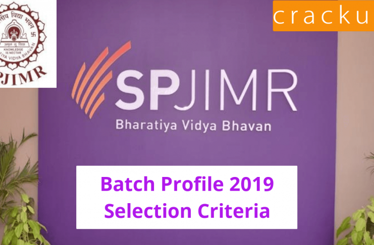 SP Jain Batch Profile 2019